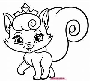 Kitten And Puppy Coloring Pages To Print Coloring Home