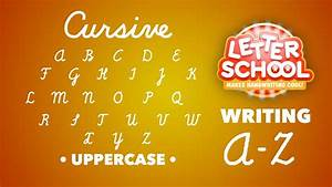 Learn Cursive Handwriting with 'Cursive Writing ...