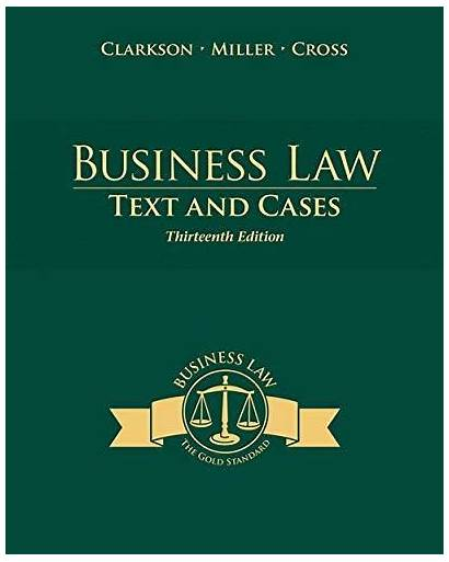 Business Law Text Isbn Cases Edition Textbooks
