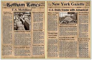 Old Timey Newspaper Templates Free Google Search Old