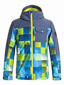 Boy's 8-16 Mission Block Snow Jacket 889351855008 | Quiksilver