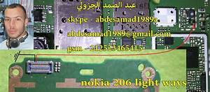 Nokia 206 Display Ways Diagram