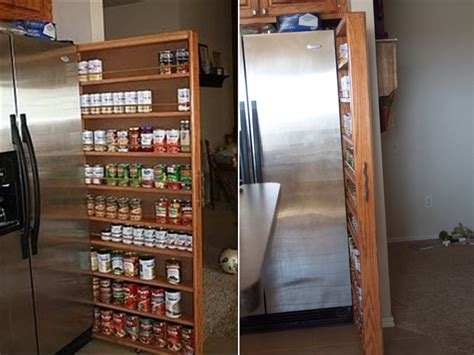 narrow kitchen cabinet diy crafts handimania