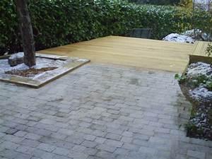 Pavé De Bois : terrasse pave et bois nos conseils ~ Premium-room.com Idées de Décoration