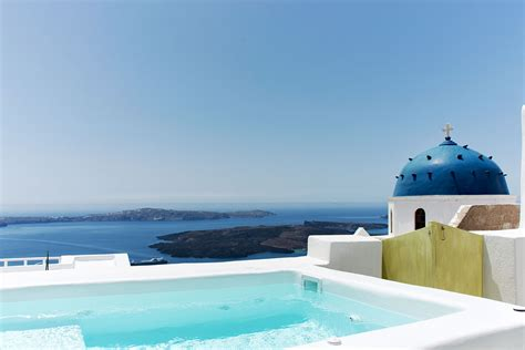 Apartments Santorini Island Accommodation With Caldera