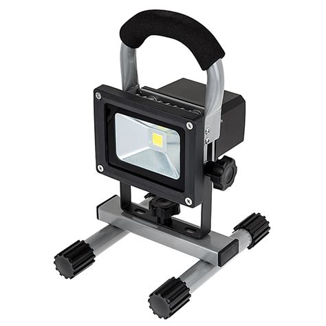 portable led lights 10w portable rechargeable led work light dimmable