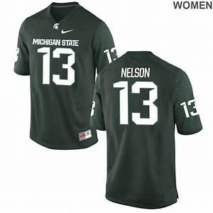 Women's Michigan State Spartans Laress Nelson Green ...