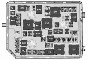Buick Envision  2016  U2013 2017   U2013 Fuse Box Diagram