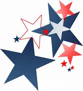 4th Of July Stars Clipart - Clipart Suggest