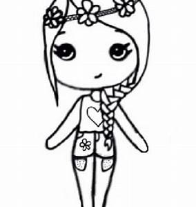 Instagram Chibi Coloring Pages Drawing Templates Boy And ...