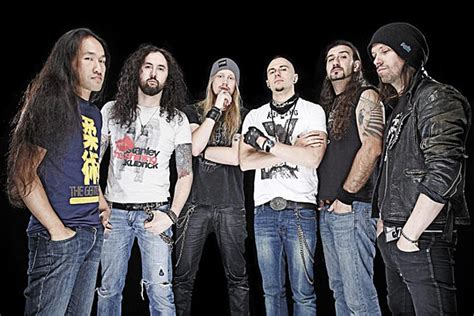 Dragonforce Finish 2015 On North American Tour With Kamelot