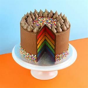 Chocolate Rainbow Cake - Cakes - Order online - Cupcakes