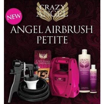 petite crazy angel tanning kit spray systems tents tanning beauty