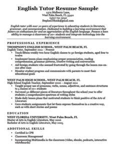80 resume exles by industry job title free
