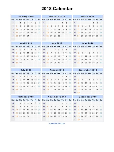 2018 calendar template for word 2018 calendar word 2018 calendar printable