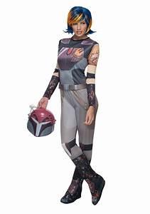 Star Wars Rebels Womens Sabine Wren Costume