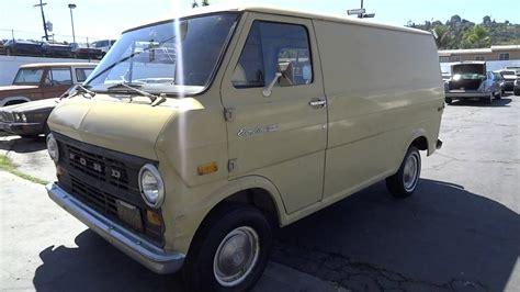 ford econoline  cargo van   manual work truck