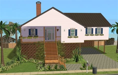 Mod The Sims  Seaside Bungalow