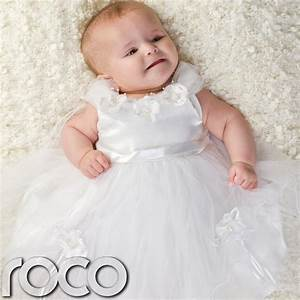baby girls white flower dress wedding babies bridesmaid With wedding dresses for babies