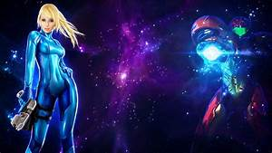 Samus Aran Space Wallpaper by AKarl47 on DeviantArt