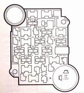 1981 Chevy Truck Fuse Box Diagram