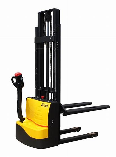 Stacker Semi Power Electric Lift Equipment Pallet