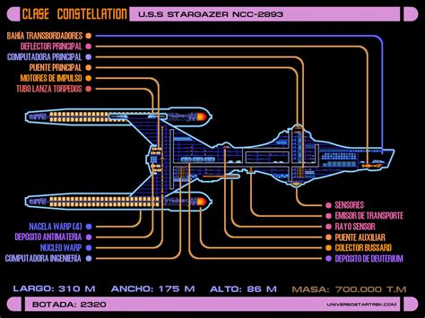 constellation deck plan 2 trek lcars schematics trek blueprints