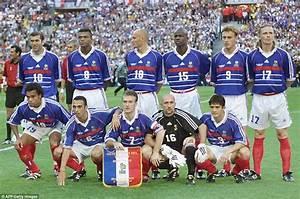 12 juillet 1998 : France 3 0 Brésil Finale de Coupe du Monde Poteaux carrés