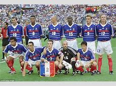 Zinedine Zidane posts picture of France's 1998 World Cup