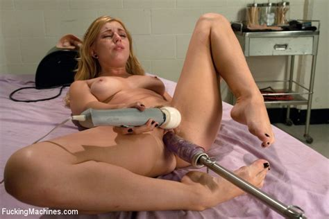 The Famous Lexi Belle Fucked Senseless By Machines And The