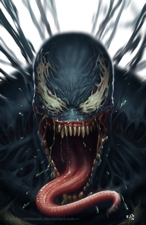 Venom By Chimeraic On Deviantart