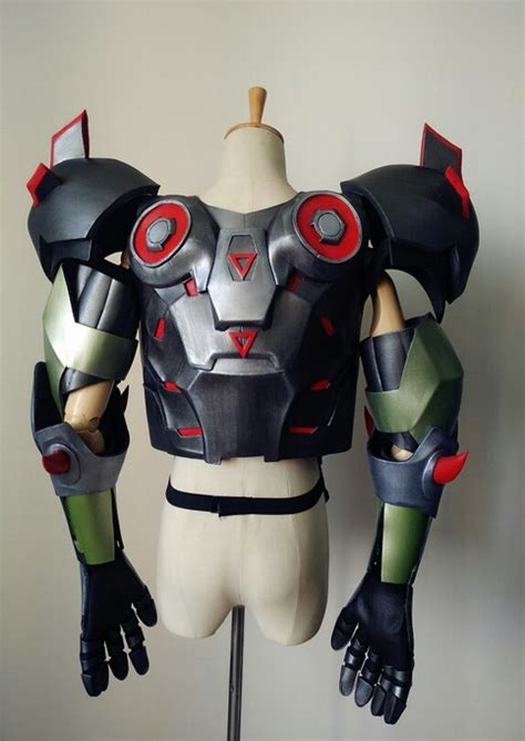overwatch genji skin oni cosplay armor costume  sale