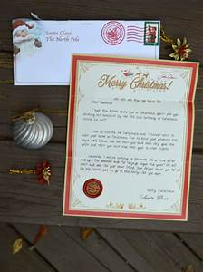 personalized christmas letters from santa claus kids will With a personalized letter from santa claus to your child