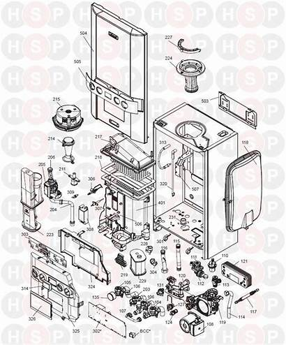 Boiler Combi Logic Exploded Ideal Diagram Onwards