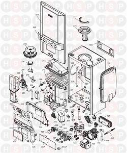 Ideal Logic Combi 24  Boiler Exploded View Abk Onwards  Diagram