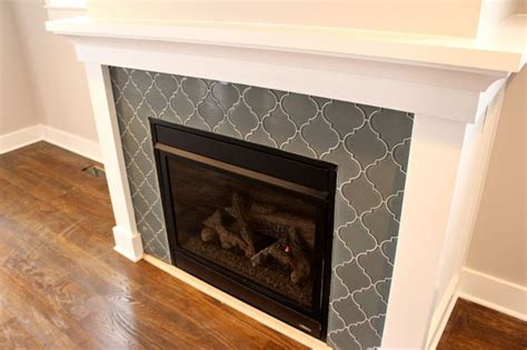 17 best ideas about tile around fireplace on