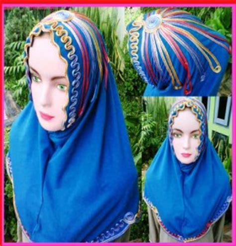 bahan rayon pe sentral grosir jilbab  produsen jilbab