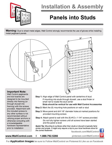 Metal Pegboard Installation  How To Install Peg Boards By