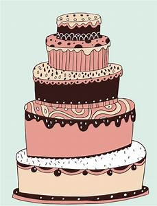 cute cartoon Cake elements vector - Vector Cartoon free ...