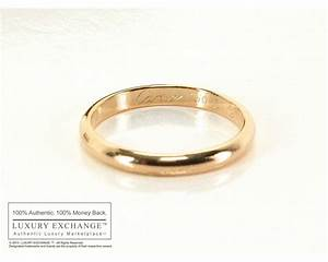 authentic cartier rose gold wedding band ring 51 With cartier gold wedding ring