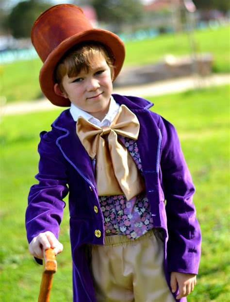 Willy Wonka Costume Charlie And The Chocolate Factory