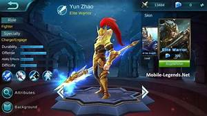 Yun Zhao High AD Build 2018 Mobile Legends