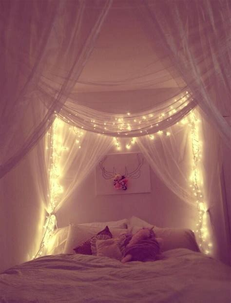 15 diy curtain headboard with christmas lights home