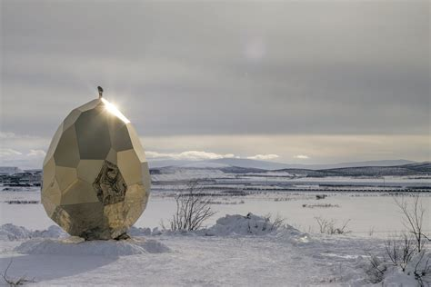 Solar Egg In Kiruna by Dpages A Design Publication For Of All Things