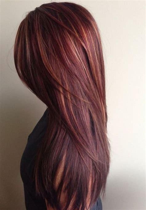 mahogany hair color  caramel highlights amanda