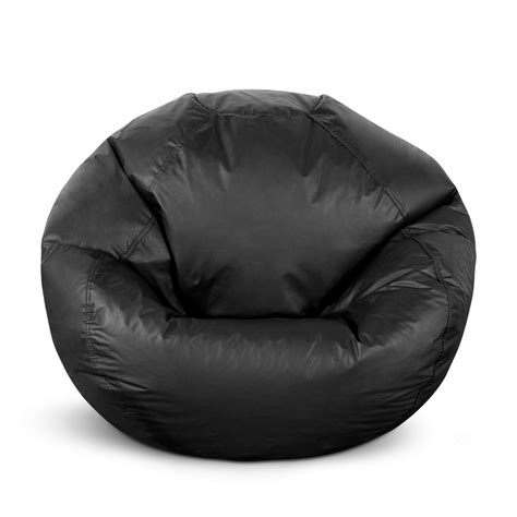 Big Bean Bag Chairs Kmart by American Furniture Alliance Classic Large Bean Bag Black