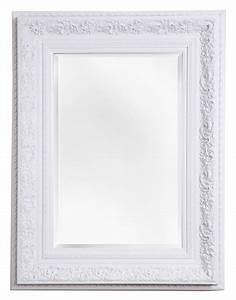 Spiegel Rahmen Weiß Hochglanz : genova spiegel mit wei em barock rahmen ~ Bigdaddyawards.com Haus und Dekorationen