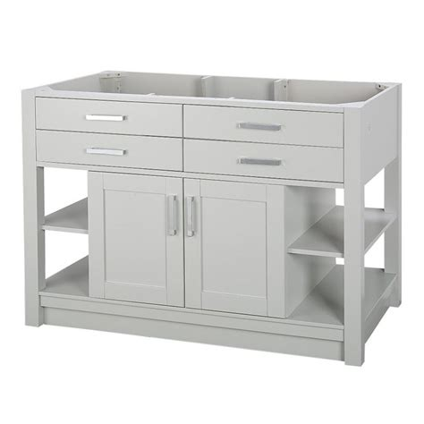 allen roth bathroom vanities canada shop allen roth chanceport specialty grey transitional