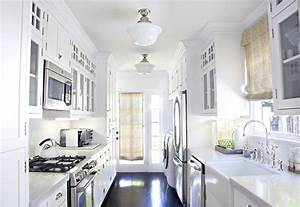 Galley Kitchen Cabinets - Traditional - kitchen - Titan and Co