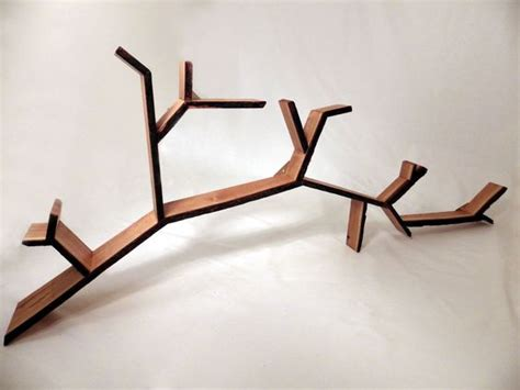 Buy Tree Branch Bookshelf by Wall Mounted Shelf Mounted Shelves And Solid Oak On